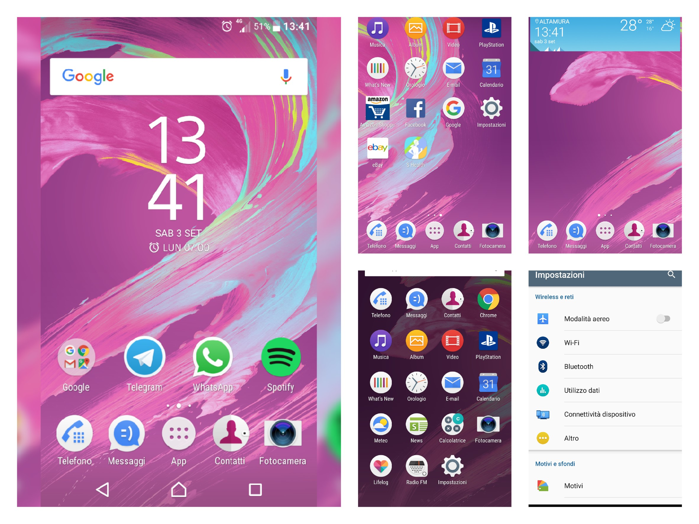 SONY XPERIA X Screen 2