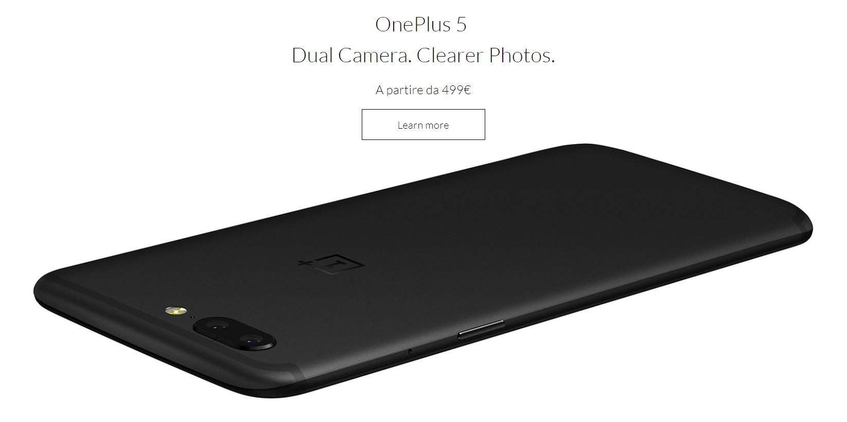OnePlus 5 recensione